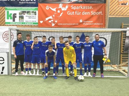 U17: 2. Platz beim Escad-Reuther-Cup
